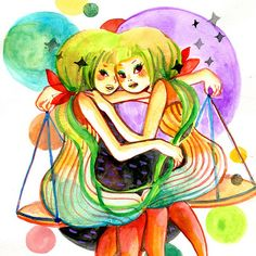 Gemini and Libra.. the perfect fit <3