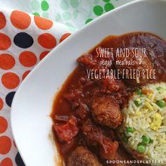 sweet and sour vegan meatballs_vegetable fried rice.jpeg