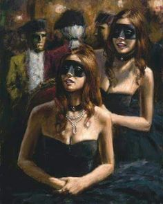 """""""Study For Woman with White Umbrella"""" is a hand embellished limited edition giclee on stretched canvas by Fabian Perez. The piece is numbered and hand signed by the artist and comes with a Certificate of Authenticity. Romain Gary, Local Art Galleries, White Umbrella, Cosplay, Illustrations, Masquerade Ball, Paintings For Sale, Art Paintings, Beautiful Paintings"""