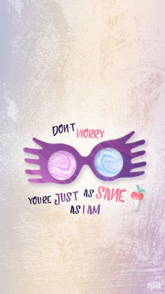 Luna Lovegood spectrespecs free wallpaper Harry Potter More, Harry Potter Quotes, Hp Quotes, Harry Potter Hintergrund, Harry Otter, Luna Lovegood, Draco Malfoy, Fandom, Fantastic Beasts