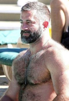 Hairy Daddy Bear. Men. Beards. Dream Daddy.