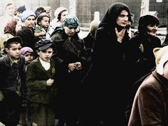 Auschwitz Untold: New Holocaust documentary presents horrors of Nazi concentration camp in vivid colour Book Burning, Holocaust Memorial, The Third Reich, Set You Free, Vintage Photographs, Kids Wear, Vivid Colors, Documentaries, Horror