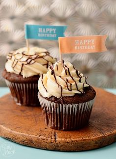 Bailey's Chocolate & Caramel   Cupcakes