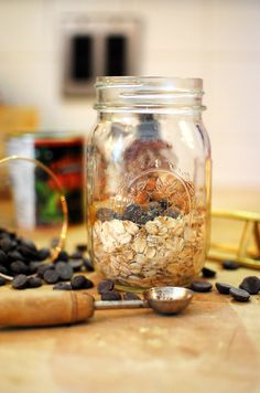 Peanut Butter Overnight Oats are downright magical. It's like biting into a Peanut Butter Cup, but it's actually healthy. Get the recipe.