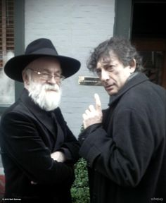"""neil-gaiman: """"neil-gaiman: """"neil-gaiman: """"No we are not plotting anything. Why do you think we are plotting something? View more Neil Gaiman on WhoSay """" For the record, I was lying. We were plotting something. """" And all the things we were plotting..."""