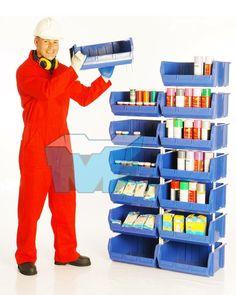 Productos que mejoran la organización, el almacenamiento, la clasificación de insumos, productos y mercancías de manera eficiente, optimizan espacios, facilitan el control y la realización inventarios y la exhibición de tus productos, mejoran significativamente el ambiente operacional y la imagen de tu empresa, planta o almacén. Te brindamos asesoría personalizada, Te esperamos! Tel: 4145213 en Bogotá.