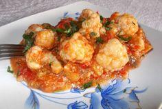 Ghiveci de toamna Pasta Carbonara, Tzatziki, Cauliflower, Vegetables, Food, Cauliflowers, Essen, Vegetable Recipes, Meals