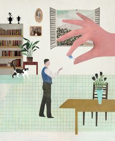 Editorial - Netalie Ron-Raz illustration נטעלי רון רז