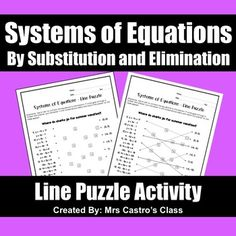 Literal Equations Coloring Activity Equation, Algebra
