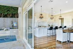 Hampton Style Kitchen - Harrington Kitchens