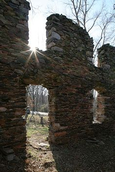 Located in the north West section of Loudoun County, Va, this former stone building makes it historic presence known.