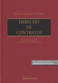 Derecho de contratos / Ángel Carrasco Perera . - 2017