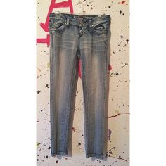 skinny jeans small stain, wouldn't be able to tell unless someone got down and looked at your leg Mossimo Supply Co Jeans Skinny