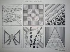 NOKTA VE ÇİZGİ ÇALIŞMALARI   C.Ü. Mimarlık Fakultesi