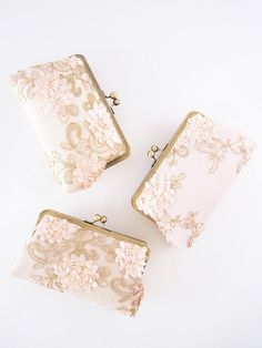 It is customary for the bride to prepare gifts for her bridesmaids as an invite to participate in the wedding party and to say thank you for being a best friend. Gifts don't need to be extravagant and expensive, sometimes it is much nicer to have a small, Bridesmaid Gifts From Bride, Bridesmaid Clutches, Personalized Bridesmaid Gifts, Bridesmaid Jewelry Sets, Bridesmaids, Sequin Bridesmaid, Bridesmaid Dresses, Bridal Party Jewelry, Purses