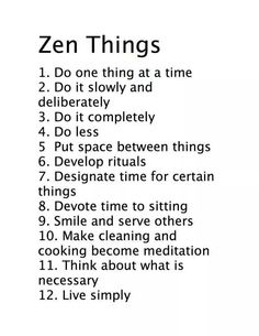 I'm sooo zen and i practice it everydayyyy