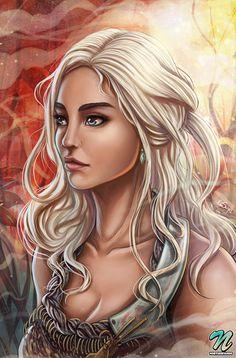 Daenerys Targaryen - Game of Thrones - Edgar Sandoval