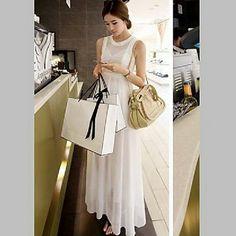 Women's Elegant Chiffon Maxi Dress – EUR € 27.13