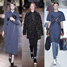 ZIPS Zip up until next season; the designers have gone mad for the functional clothing feature Left to right: Carven, Stella, McCartney, Bal...