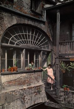 New Orleans, autochrome, 1920's