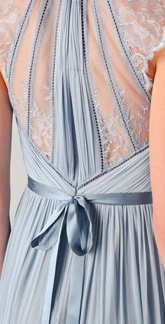 gorgeous detail--this would make a beautiful bridesmaid dress (Catherine Deane Laverne Dress)