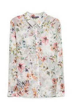 Dames blouses - Violeta by MANGO Blouse met print