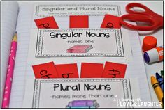Interactive Notebook Activities for First Graders