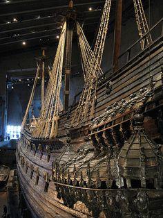 Stockholm - Sweden - inside the Vasa Museum