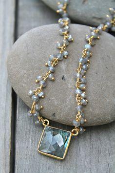 wife jewelry idea Orange chalcedony necklace girl friend jewelry boho jewelry wife multicolor necklace multi gemstone cascade necklace