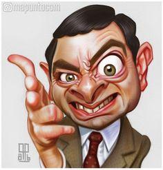 Mr Bean by mapontocom.deviantart.com on @DeviantArt