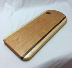 Large Cherry Bread Board by HartmanWoodworks on Etsy