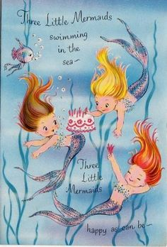 Adorable Mermaids