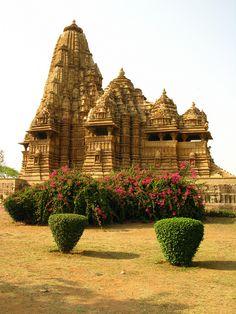 Erotic temple of Khajuraho, India