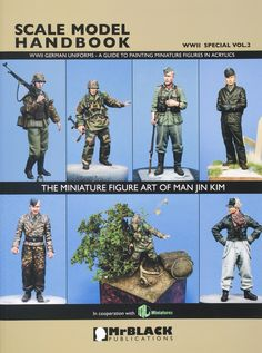 Scale Model Handbook, WWII Special Vol. 2 – WWII German Uniforms: A guide to Painting Miniature Figures in Acrylics | Finescale Modeler Magazine