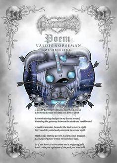 Frightlings: Valdis Norseman Zombieling Poem.