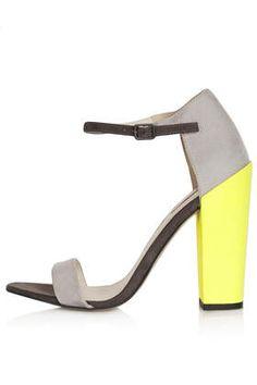 Block Heel Sandals ~ LOVE