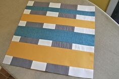 Sew, Mama, Sew Modern Block of the Month - May by alissahcarlton, via Flickr