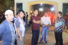 Bupati Inhil Kecewa, Penerangan di Pusat Kuliner Kelapa Gading Remang-remang