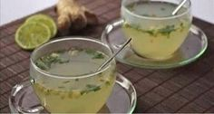 The house detox infusion of winter fresh ginger, mint from the garden … - Diet and Nutrition Detox Drinks, Healthy Drinks, Healthy Tips, Healthy Eating, Healthy Recipes, Healthy Beauty, Healthy Food, Bebidas Detox, Cleaning Your Colon