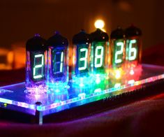 Introducing OpenVFD - the colorful VFD tube clock with light effects that make the clock dance, glow or turn into a rainbow.I'm here to share my result of creating...