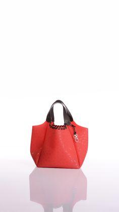 Cruciani shopping bag... walking in the city