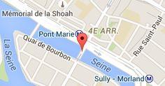 Pont Marie: carte