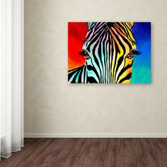 DawgArt 'Zebra' Canvas Art | Overstock.com Shopping - The Best Deals on Canvas