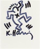 Dancing Man par Keith Haring