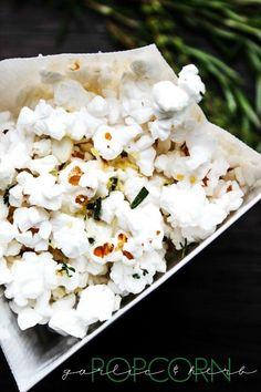 Garlic & Herb Popcor