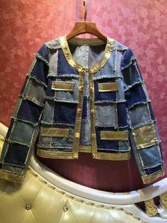 Popular Patch Denim Jacket-Buy Cheap Patch Denim Jacket lots from ...