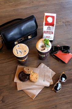 Philz Coffee's Mint Mojito with Califia Barista Blend Almondmilk