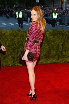 Pin for Later: 11 Attendees Who Would Get Turned Away at This Year's Met Gala Kate Bosworth at the 2013 Met Gala Last year, Kate was ready to rock in Balmain. This year she'd be told to roll.