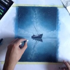 time lapse video _______________ What was used: Toison D'Or soft pastels and Prismacolor pencils on canson pastel paper
