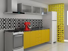 Movelaria - Cozinha Personalizável - Ref. 8127 | Cozinha, Ambientes Planejados